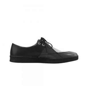 Chaussures classic Homme carreaux noir et blanc
