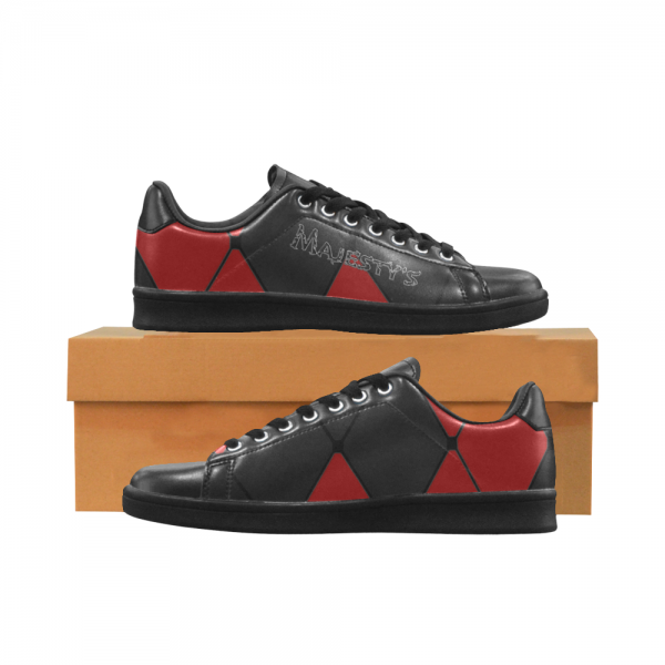Chaussure Sneaker Homme carreaux rouge