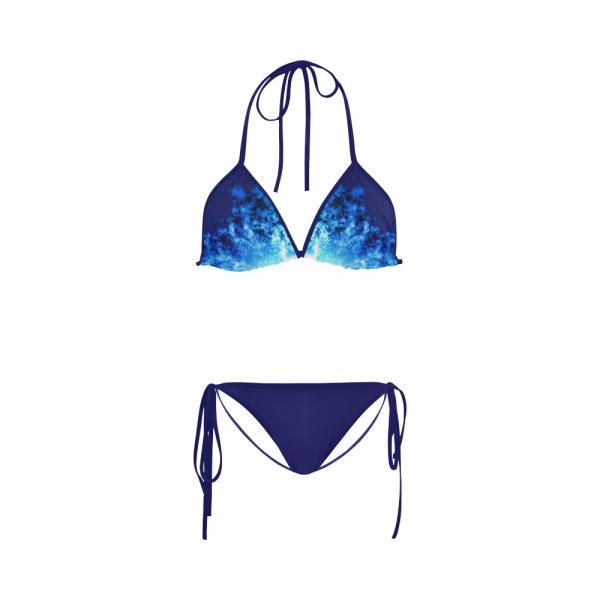 Maillot de bain femme - Bikini Flamme Bleue