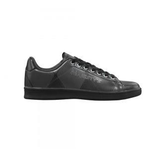 Chaussures Sneaker homme motif grand carreaux noir
