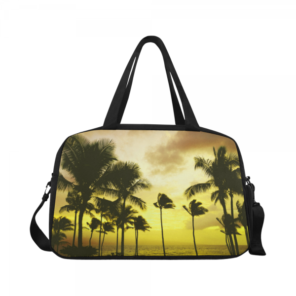 Sac waterproof bagage + compartiment chaussure - yellow coconut