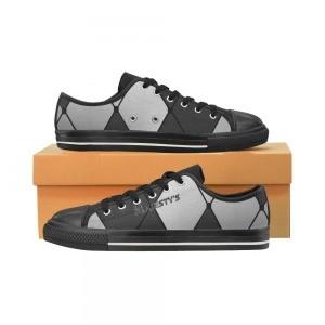 Chaussure Homme carreaux noires et blancs