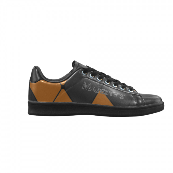 Chaussure Sneaker Homme carreaux orange
