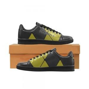 Chaussure Sneaker Homme carreaux jaune