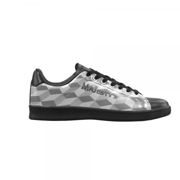Chaussure Sneaker Homme carreaux blanc