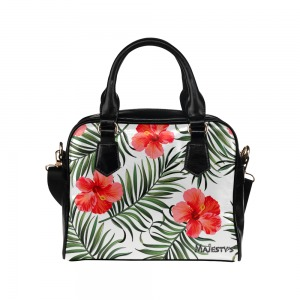 Petit Sac à main majesty's - simili-cuir Hibiscus