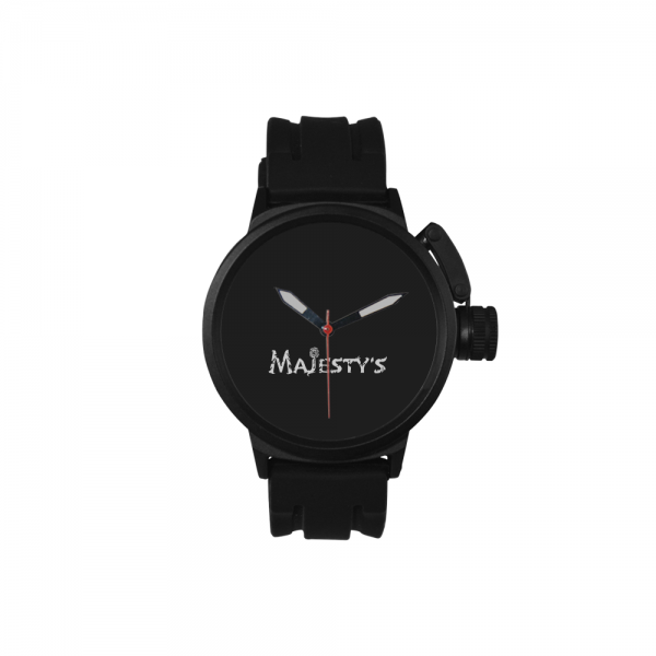 Montre noire sport Majesty's